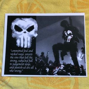 The Punisher Poster print